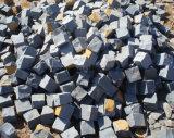 Mattoni neri di Trumbled del basalto, blocchi, lastricatori