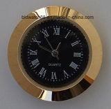 Mini pieza inserta modificada para requisitos particulares 27m m del reloj del cuarzo del metal analogico de la aleación