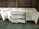 現代シェーカーの純木の食器棚