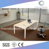 普及した木の現代家具のラップトップの机のオフィス表