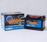 Batería de coche libre de mantenimiento DIN66 12V66ah de alto rendimiento de la batería del automóvil