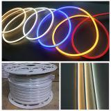Luces de la flexión del neón LED de la decoración 9*16m m del edificio