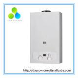 Panneau avec revêtement blanc 12L de gaz naturel chauffe-eau à gaz