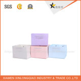Design personnalisé Fancy Shopping Paper Bag Gold with Purple