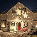 조경 옥외 정원 영사기 빛 크리스마스 또는 당 빛