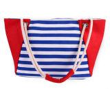 Lona das mulheres da forma e de praia do plutônio saco de couro (BDX-161061)