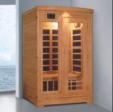 Sauna infravermelha de madeira sólida para multipessoas com customização (AT-0930)