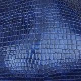 ハンド・バッグのための人工的なPU PVCワニの革