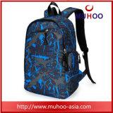 Blauer Arbeitsweg Sports Kleidersack-Laptop-Schule-Rucksäcke für Hochschule