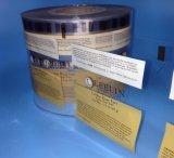 Película laminada alta calidad de la bolsa de la bolsita del champú y del cosmético