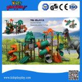 Пластиковый серии динозавров игровая площадка пластиковые и металлические детали типа игровую площадку для установки вне помещений