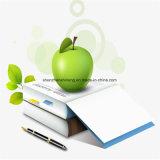 Het groene Materiële Document van de Steen Perfect voor Druk