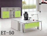 Forma L moderno tabela executiva da mesa de escritório Et-50 de escritório de gerente da saliência do projeto
