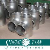 Acero de carbón que reduce las instalaciones de tuberías de la te