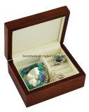 Коробка подарка ювелирных изделий Wooen отделки сатинировки для малышей