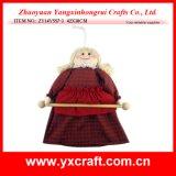 Fille de Russe de Noël de la décoration de Noël (ZY14Y557-3 42X30CM)