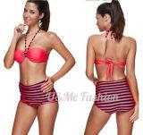 부족 인쇄된 여자 Tankini 도매 3개 피스 수영복