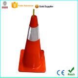cone do tráfego do PVC de 70cm com CE