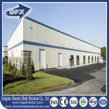 Gasolinera de la estructura de acero del fuerte viento/edificio resistentes de la alameda de compras