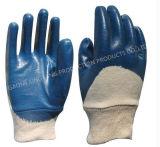 Le coton Natrile enduits de protection du travail des gants de travail (N6034)