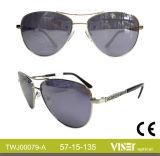 Form-Sonnenbrille-Metallsonnenbrillen mit neuem Entwurf Eyewear (79-A)