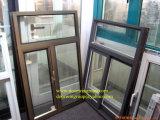 Ventana Awing aluminio de alta calidad para Villa, Personalizado Ventana colorido colgado superior Doble Acristalamiento de cristal