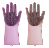 Accoppiamenti riutilizzabili termoresistenti della spazzola dei guanti del silicone