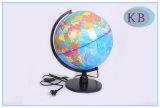 globi del mondo del PVC di 32cm con l'indicatore luminoso del LED