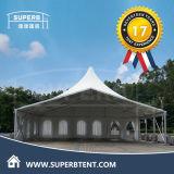 Assemblée d'essai de tente élégante de crête élevée de 15m*30m par la tente superbe