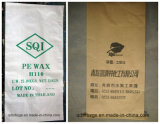 Мешок Бумаг-Пластмассы составной сплетенный PP для химически воска PE