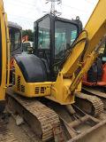 小松の販売のための小型クローラー掘削機PC55、上海の安く日本使用された元のPC55掘削機