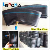 Manufatura natural da câmara de ar interna da motocicleta da borracha butílica da qualidade (3.00-17)