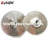 125mm Electroplated Diamond Corte em mármore e lâmina de moagem