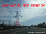 Torretta della trasmissione di tensionamento di Megatro 220kv 2A3 J2