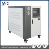 Refrigeratore raffreddato ad acqua industriale con le coperture ed il tubo