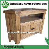 Tabella solida dell'angolo TV di legno di quercia