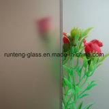 Ясное кисловочное травленое стекло/матированное стекло/Sandblasted стекло/покрашенное матированное стекло