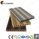 Decalque compacto WPC Deck Flooring Wood Plastic
