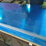 1050 Chapas de alumínio com revestimento de filme de PVC azul