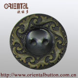 Fashioin 2-Holes Plastic Flower Pattern Button