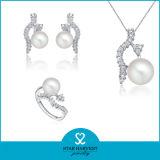 Marfil auténticas joyas de plata para el uso de regalo (J-0105)