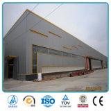Estructuras de acero ligeras de acero del marco ligero porta del espacio que construyen el almacén