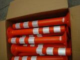 De beste Verkopende PE van 75cm Flexibele Delineator Post van de Waarschuwing van de Meerpaal