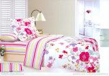 ホーム寝具は100%年の綿のシーツをセットした