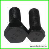 DIN 6914 Gr, тяжелая отделка чернением болта с шестигранной головкой 10.9