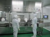 Máquina de enchimento líquida da injeção com isolador
