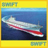 El envío de mercancías, servicio de transporte, logística