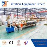 Imprensa de filtro controlada da membrana do programa para a água de esgoto de Paper&Pulp 870 séries