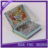 Spezieller Entwurfs-farbenreicher Drucken-Pappgefälschtes Buch-Kasten