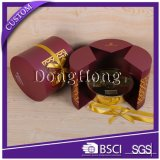 Runder Duftstoff-Geschenk-Kasten-/Creme- für den Körperverpackenluxuxkasten